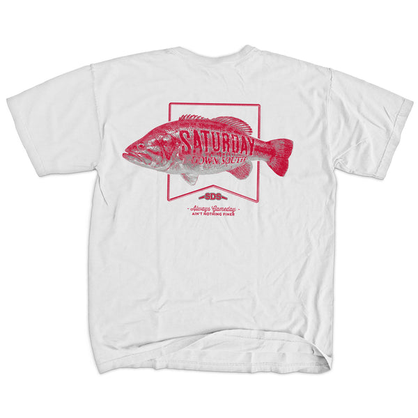 Red Collection - Saturday Bass Short Sleeve Pocket T-shirt