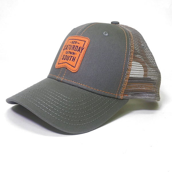 Orange and Purple Collection - Patch Trucker Hat