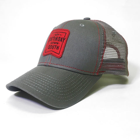 Red Collection - Patch Trucker Hat
