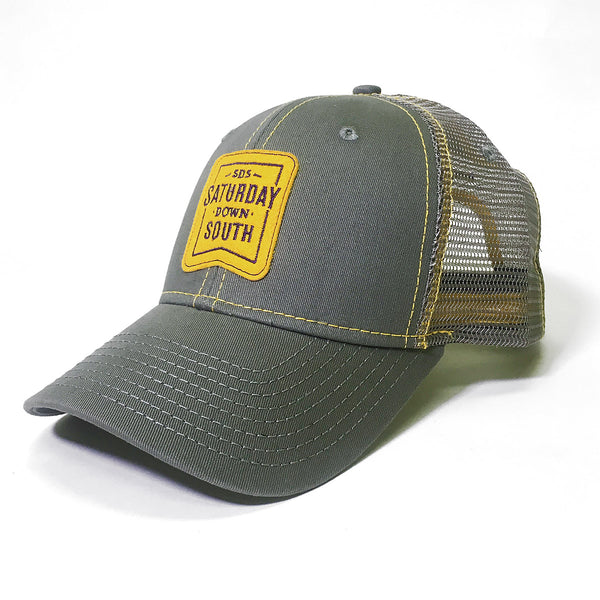 Purple and Gold Collection - Patch Trucker Hat