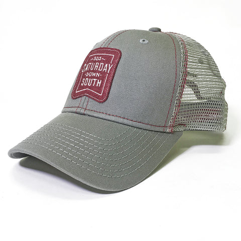 Maroon Collection - Patch Trucker Hat