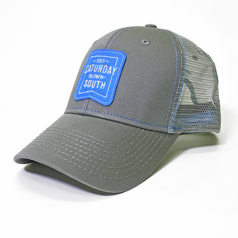 Blue Collection - Light Blue Patch Trucker Hat