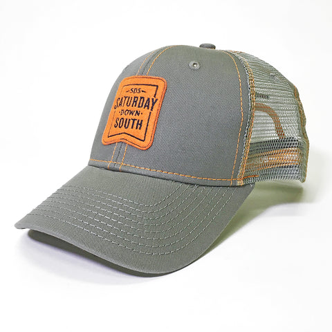 Orange and Blue Collection - Patch Trucker Hat