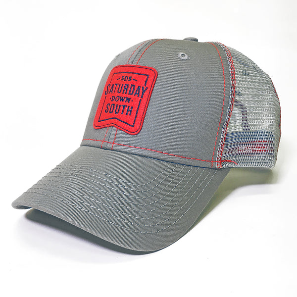 Red and Blue Collection - Patch Trucker Hat