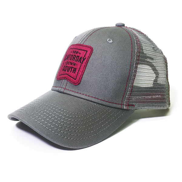 Garnet Collection - Patch Trucker Hat
