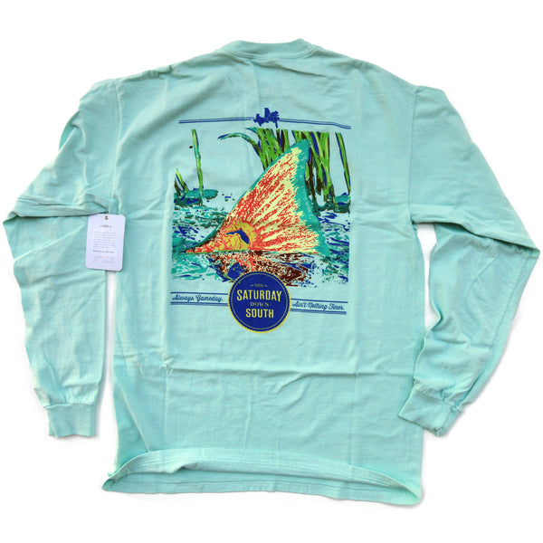 Orange and Blue Collection - Gainesville, FL - Tall Tail Long Sleeve Comfort T-shirt