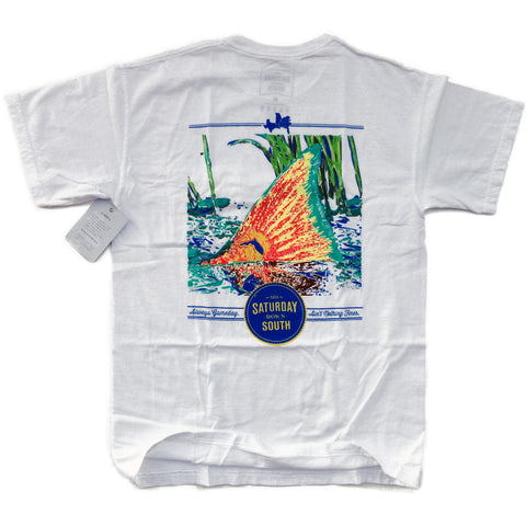 Orange and Blue Collection - Gainesville, FL - Tall Tail Short Sleeve Pocket T-shirt