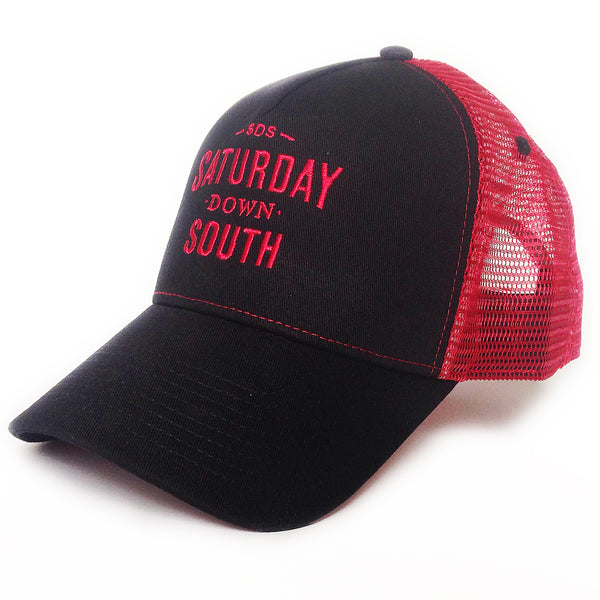 Red Collection - SDS Logo Southern Trucker Hat