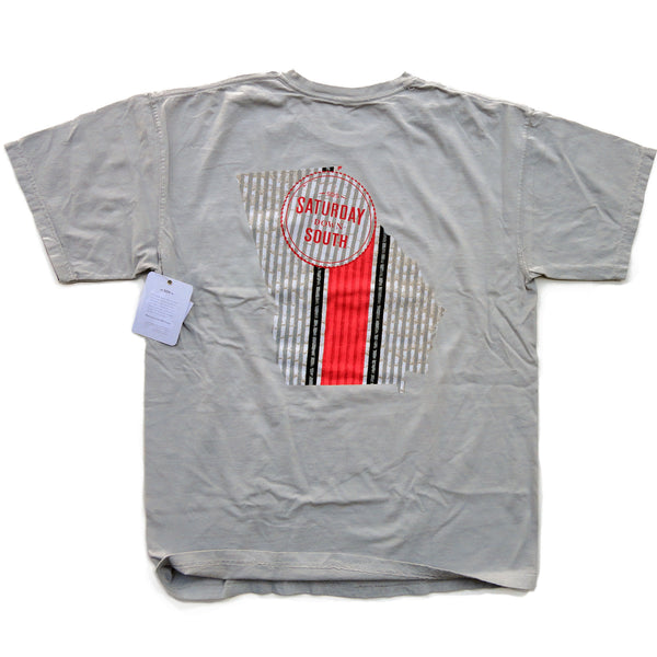Red Collection - Athens, GA - Seersucker State Short Sleeve Pocket T-shirt