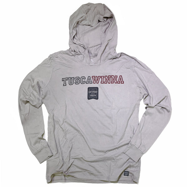 Crimson / Cardinal Collection - Tuscawinna Long Sleeve Hoodie T-shirt