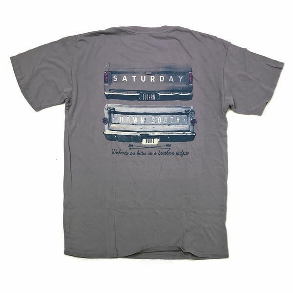 United South Collection - Gates of Glory pocket t-shirt (gray)