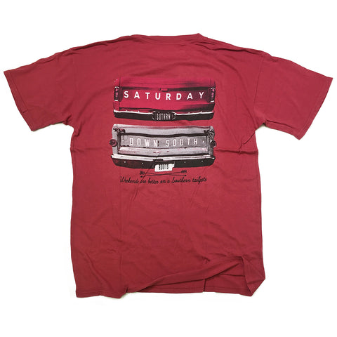 Red Collection - Gates of Glory pocket t-shirt