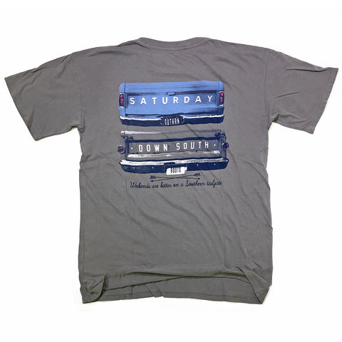 Blue Collection - Gates of Glory pocket t-shirt