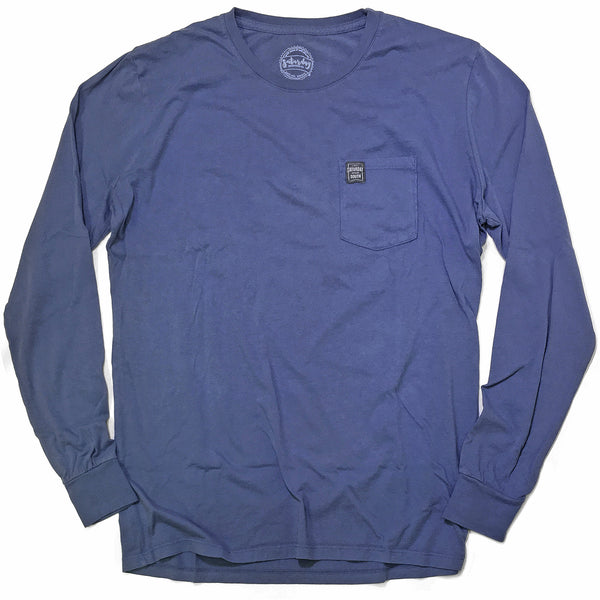 Blue Collection - Gates of Glory long sleeve pocket t-shirt