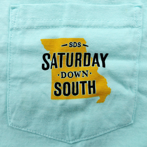 Black and Gold Collection - Columbia, MO - SDS Nation Short Sleeve Pocket T-shirt