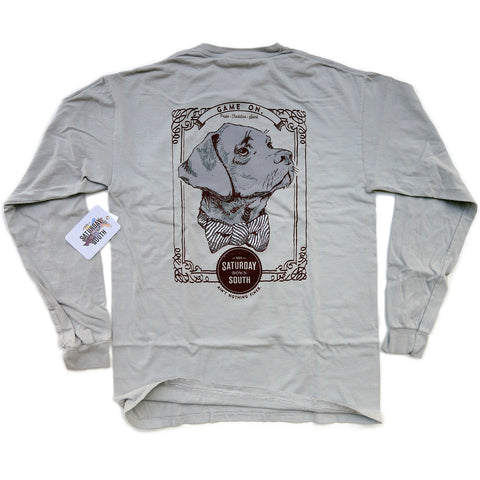 Maroon Collection - Starkville, MS - Game On Long Sleeve Comfort T-shirt