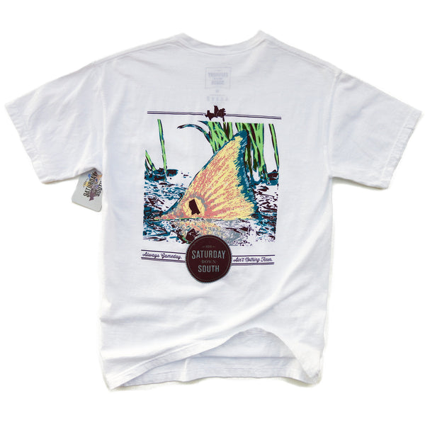 Maroon Collection - Starkville, MS - Tall Tail Short Sleeve Pocket T-shirt