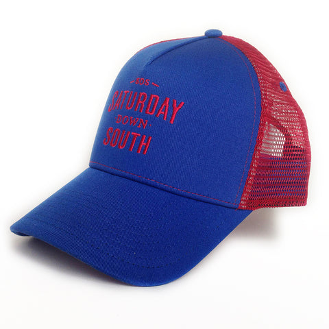 Red and Blue Collection - SDS Logo Southern Trucker Hat