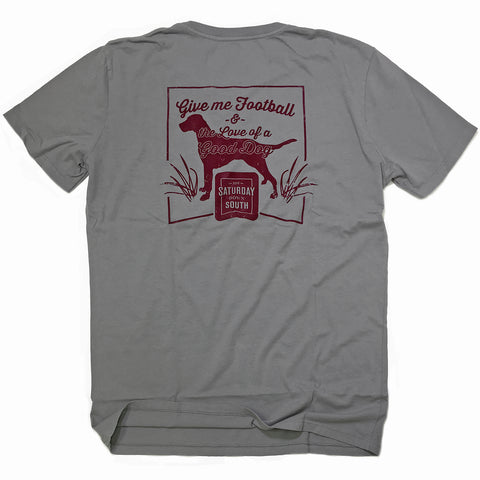 Maroon Collection - Good Dog pocket t-shirt