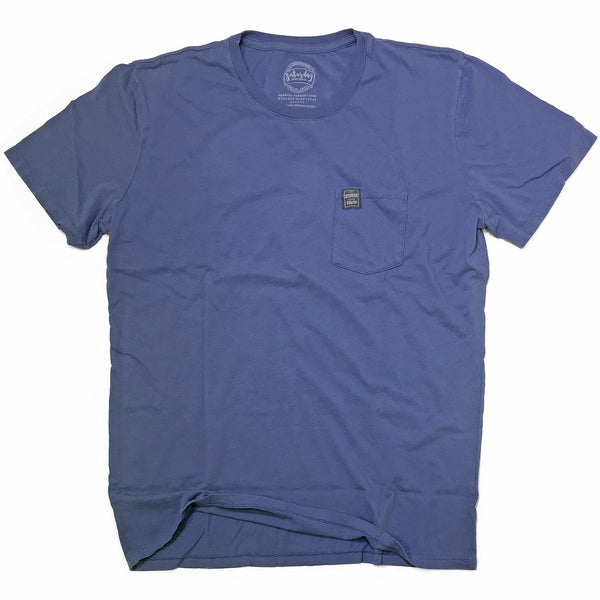 Red and Blue Collection - Brown or Clear pocket t-shirt