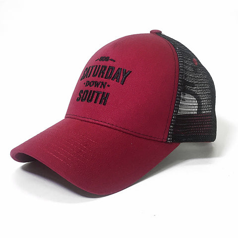 Garnet Collection - SDS Logo Southern Trucker Hat