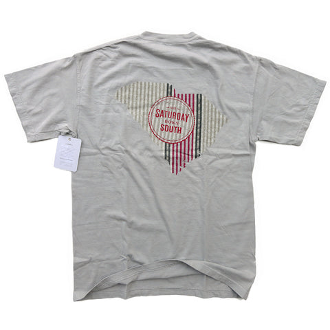 Garnet Collection - Columbia, SC - Seersucker State Short Sleeve Pocket T-shirt