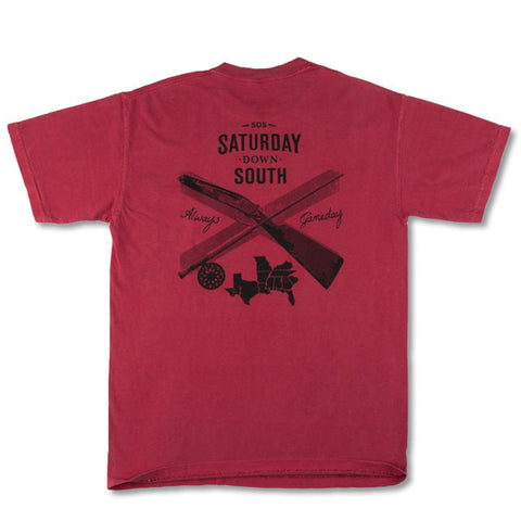 Garnet Collection - Columbia, SC - Southern Gent Short Sleeve Pocket T-shirt