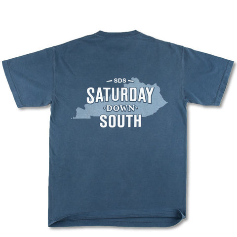 Blue Collection - Lexington, KY - Saturday State Short Sleeve Pocket T-shirt