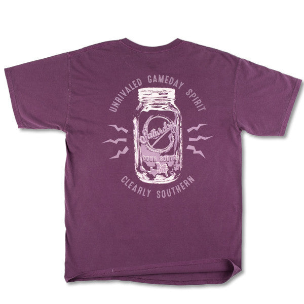 Maroon Collection - Starkville, MS - Mason Jar Short Sleeve Comfort T-shirt