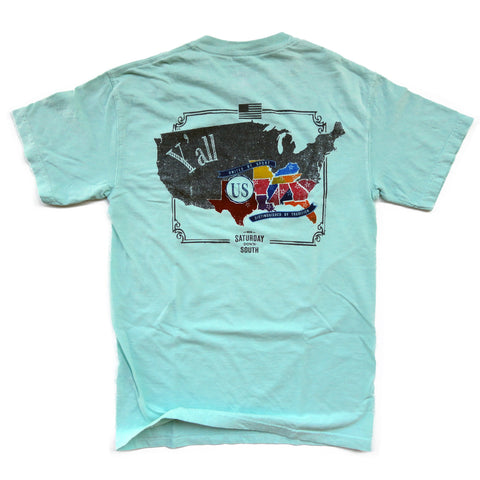 Columbia, SC - SDS Nation Pocket Tee