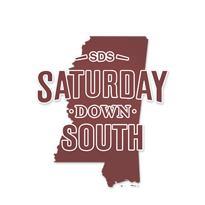 Maroon Collection - MS State Decal