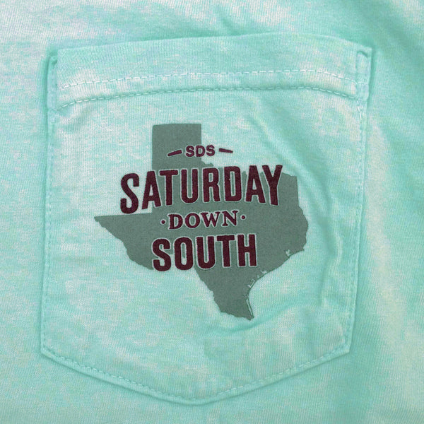 Maroon Collection - College Station, TX - SDS Nation Short Sleeve Pocket T-shirt