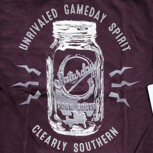 Maroon Collection - College Station, TX - Mason Jar Short Sleeve Pocket T-shirt
