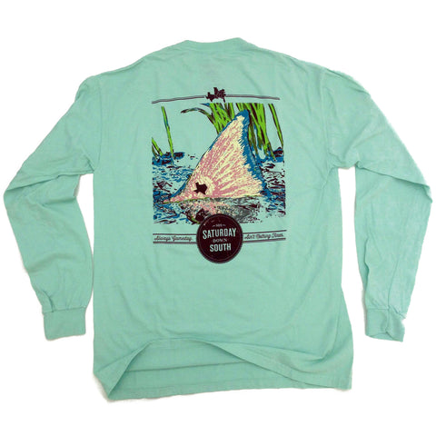 College Station, TX - Tall Tail Longsleeve Pocket Tee