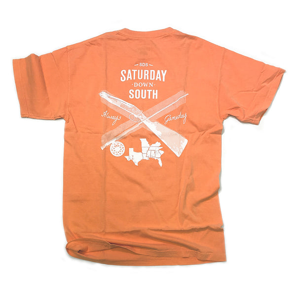 Orange and White Collection - Knoxville, TN - Southern Gent Short Sleeve Pocket T-shirt