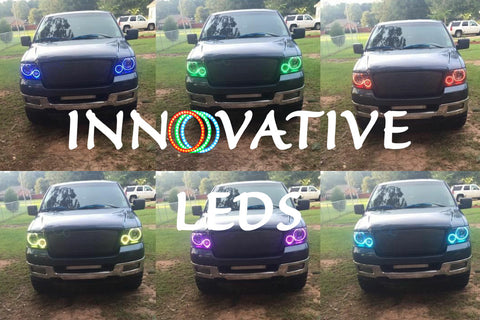 LINCOLN MARK LT 2006-2008 - RGB Halo Kits - INNOVATIVE LEDS