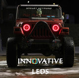 JEEP WRANGLER 1997-2016 - RGB Halo Kits - INNOVATIVE LEDS