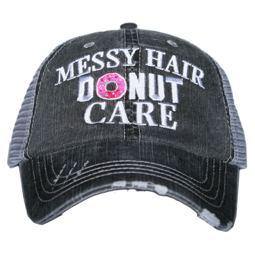 Messy Hair Trucker Hat
