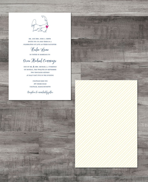 CAPE COD INVITATION SUITE