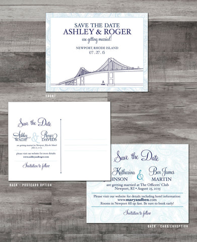 NEWPORT BRIDGE + BORDER SAVE THE DATE