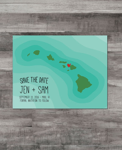 HAWAI'I OCEAN RIPPLES SAVE THE DATE