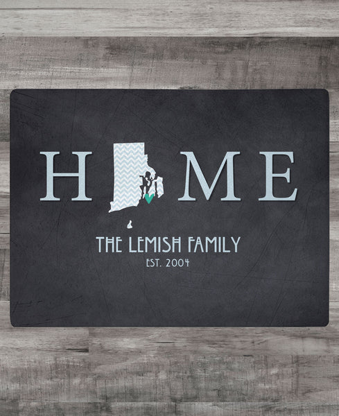 """HOME"" CUTTING BOARD"