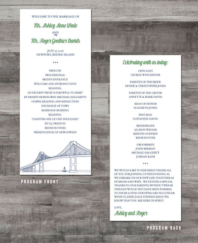 NEWPORT BRIDGE PROGRAM