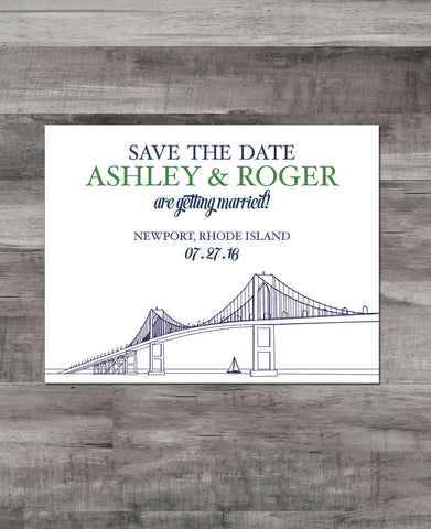 NEWPORT BRIDGE SAVE THE DATE