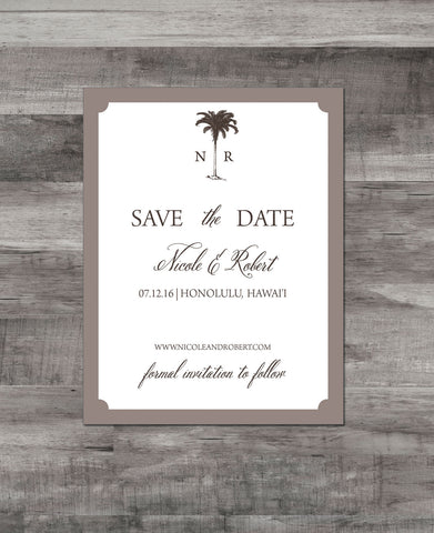 ELEGANT PALMS SAVE THE DATE