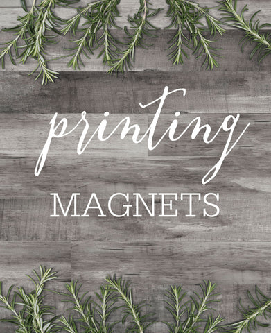 ETSY CLIENT PRINTING - MAGNETS