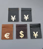 Yen and Euro coin pouches