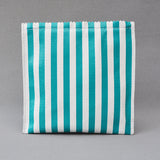 Leather Sweetshop clutch bag in Mint