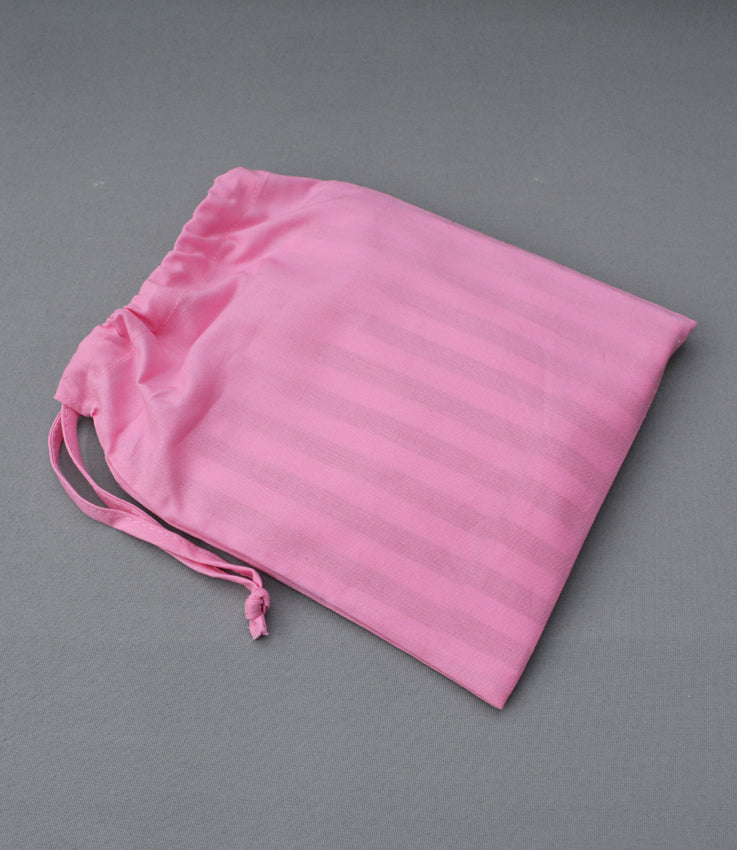 Leather sweetshop clutch bag in pink