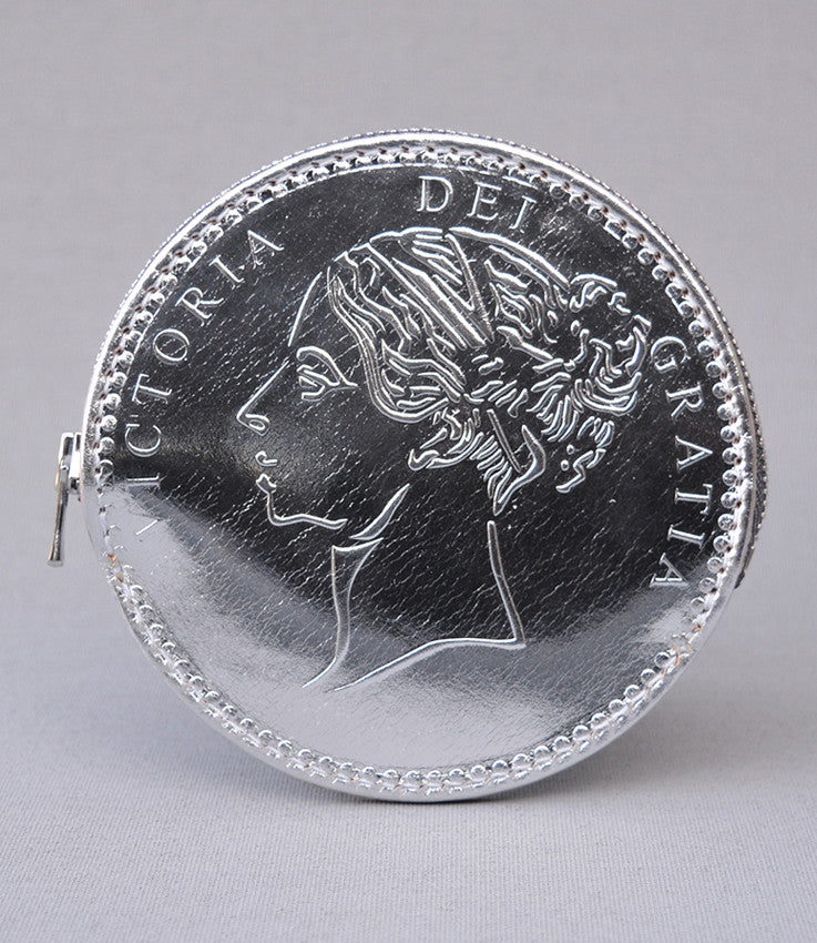 Silver Half Crown Coin Purse